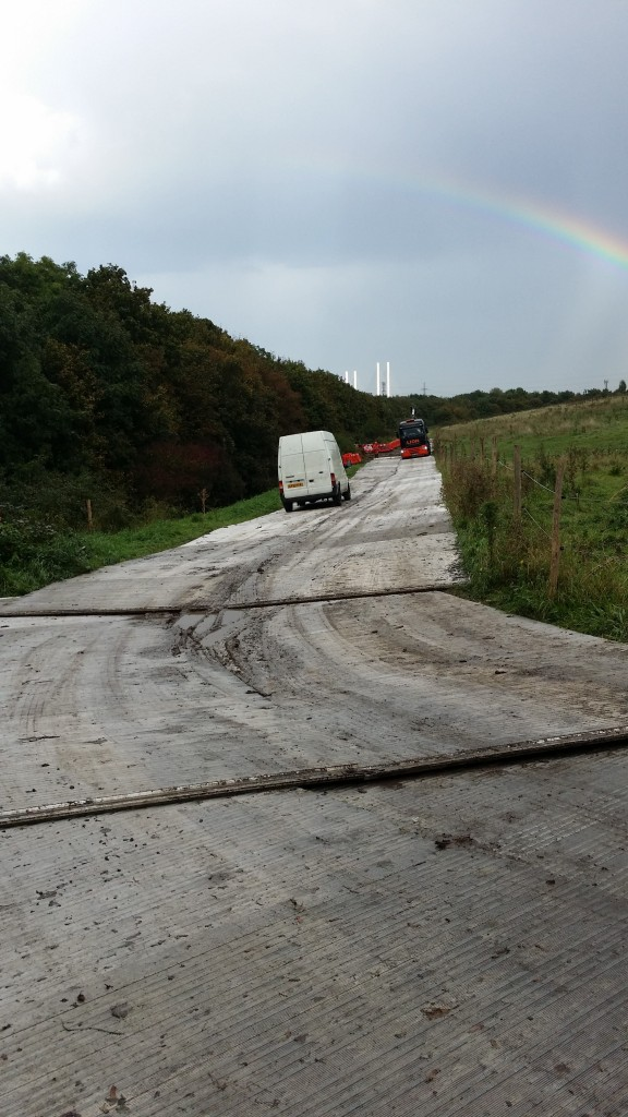 01 Littlebrook Temporary Access Road