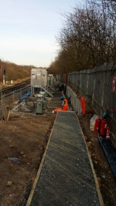 New footpath provides safe access to the power modules.
